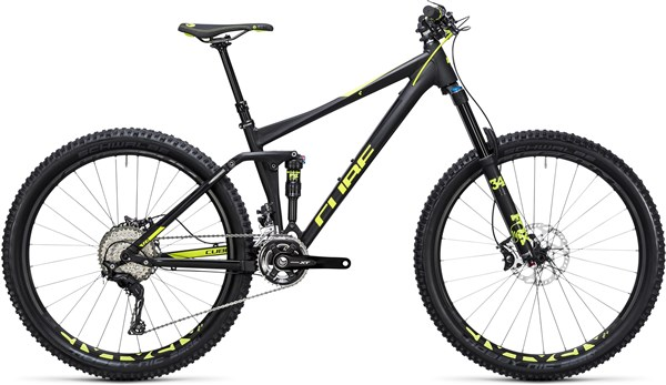 "Image of Cube Stereo 140 HPA Race 27.5""  Mountain Bike 2017 - Full Suspension MTB"
