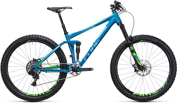 "Image of Cube Stereo 140 HPA SL 27.5""  Mountain Bike 2017 - Full Suspension MTB"