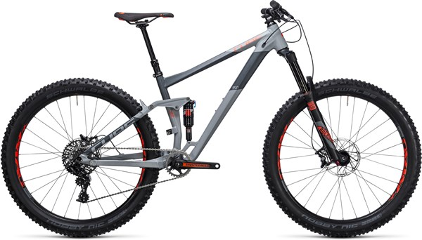 "Image of Cube Stereo 150 HPA Race 27.5""+ Mountain Bike 2017 - Full Suspension MTB"