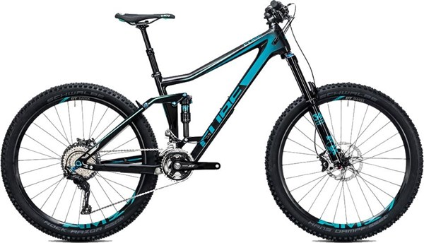 "Image of Cube Stereo 160 C:62 Race 27.5""  Mountain Bike 2017 - Full Suspension MTB"
