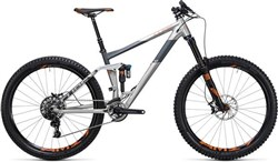 "Cube Stereo 160 C:62 Sl 27.5""  Mountain Bike 2017 - Full Suspension MTB"