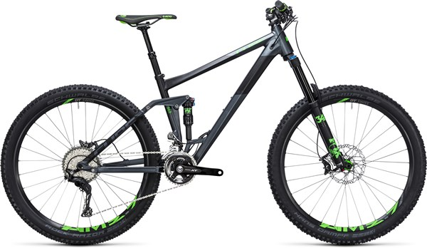 "Image of Cube Stereo 160 HPA SL 27.5""  Mountain Bike 2017 - Full Suspension MTB"