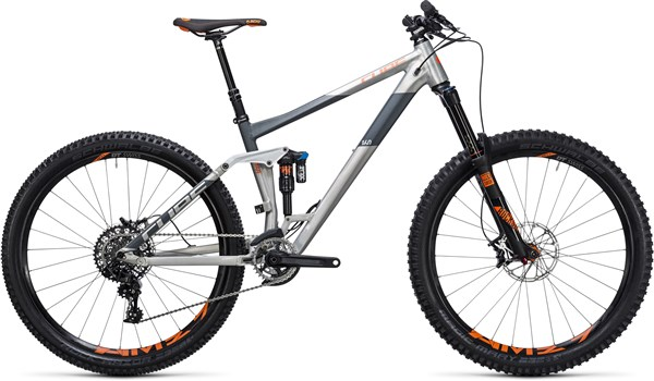 "Image of Cube Stereo 160 HPA TM 27.5""  Mountain Bike 2017 - Full Suspension MTB"