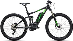 "Product image for Cube Stereo Hybrid 120 HPA 27.5""+ Race 500 2017 - Electric Mountain Bike"