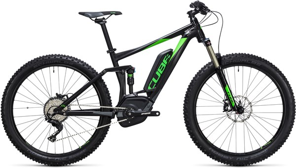 "Image of Cube Stereo Hybrid 120 HPA 27.5""+ Race 500 2017 - Electric Bike"