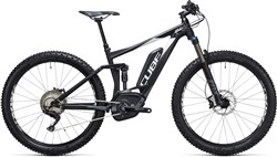 "Product image for Cube Stereo Hybrid 120 HPA 27.5""+ SL 500 27.5""  2017 - Electric Mountain Bike"
