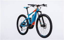 "Cube Stereo Hybrid 120 HPA Pro 500 27.5""  2017 - Electric Bike"