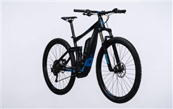 "Cube Stereo Hybrid 120 HPA Race 500 27.5""  2017 - Electric Mountain Bike"