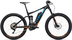 "Product image for Cube Stereo Hybrid 140 HPA 27.5""+ SL 500 2017 - Electric Mountain Bike"