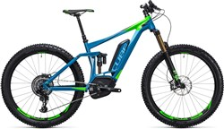 "Cube Stereo Hybrid 140 HPA 27.5""+ SLT 500 2017 - Electric Mountain Bike"