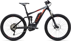 "Cube Stereo Hybrid 140 HPA Pro 500 27.5""  2017 - Electric Mountain Bike"