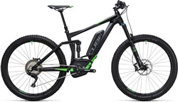 "Cube Stereo Hybrid 140 HPA Race 500 27.5""  2017 - Electric Mountain Bike"