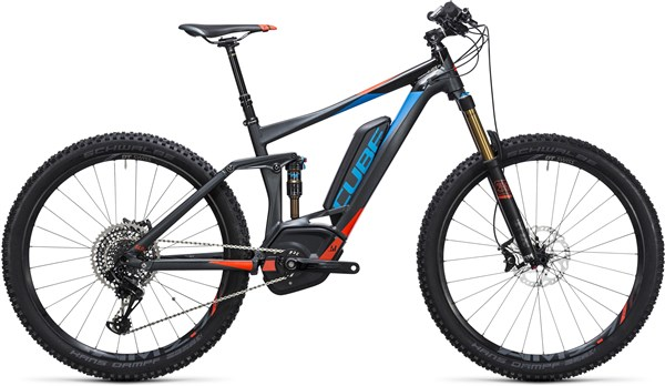 "Image of Cube Stereo Hybrid 140 HPA SL 500 27.5""  2017 - Electric Bike"