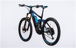 "Cube Stereo Hybrid 160 HPA Action Team 500 27.5""  2017 - Electric Bike"