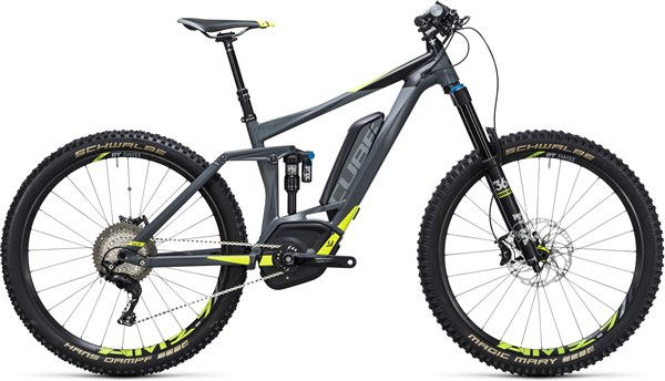 "Image of Cube Stereo Hybrid 160 HPA SL 500 27.5""  2017 - Electric Bike"
