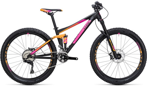 "Image of Cube Sting WLS 120 Pro 2X 27.5"" Womens  Mountain Bike 2017 - Full Suspension MTB"