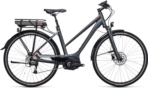 Image of Cube Touring Hybrid 400 28 Trapeze  2017 - Electric Bike