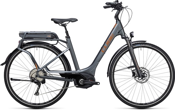 Image of Cube Touring Hybrid Exc 500  Easy Entry  2017 - Electric Bike