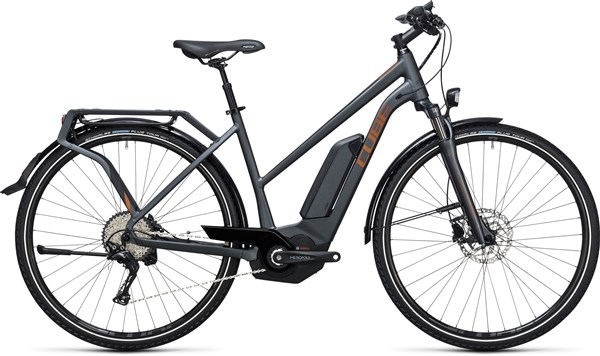 Image of Cube Touring Hybrid Exc 500  Trapeze  2017 - Electric Bike
