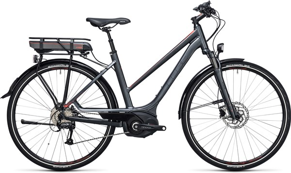 Image of Cube Touring Hybrid Pro 500  Trapeze  2017 - Electric Bike