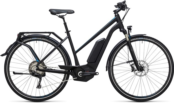 Image of Cube Touring Hybrid SL 500  Trapeze  2017 - Electric Bike