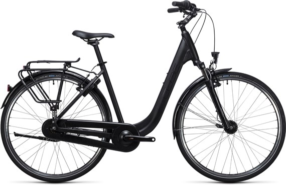 Image of Cube Town Pro Comfort  Easy Entry  2017 - Hybrid Sports Bike