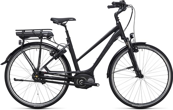 Image of Cube Travel Hybrid 400  Trapeze  2017 - Electric Bike