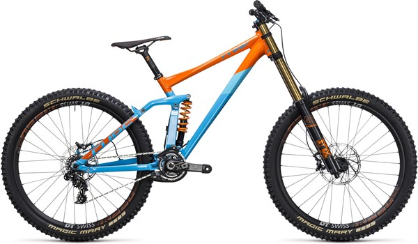 "Image of Cube Two15 HPA SL 27.5""  Mountain Bike 2017 - Full Suspension MTB"