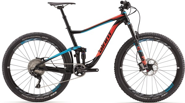 "Image of Giant Anthem 1 27.5"" Mountain Bike 2017 - Full Suspension MTB"