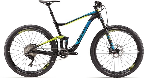 "Image of Giant Anthem Advanced 1 27.5"" Mountain Bike 2017 - Full Suspension MTB"