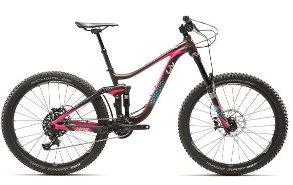 "Image of Liv Hail 1 Womens 27.5""  Mountain Bike 2017 - Full Suspension MTB"