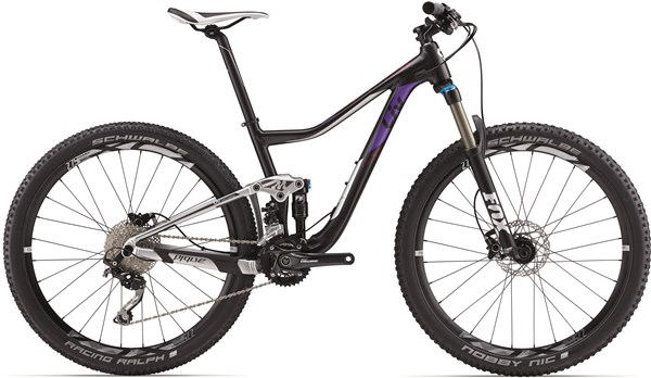 "Image of Liv Pique 3 Womens 27.5""  Mountain Bike 2017 - Full Suspension MTB"
