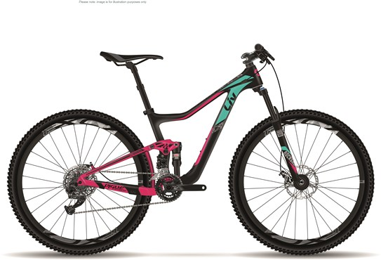 "Image of Liv Pique Advanced Womens 27.5""  Mountain Bike 2017 - Full Suspension MTB"