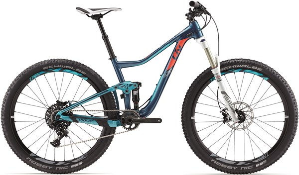 "Image of Liv Pique SX Womens 27.5""  Mountain Bike 2017 - Full Suspension MTB"
