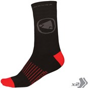 Endura Thermolite II Socks - Twin Pack AW16