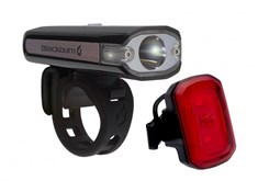 Product image for Blackburn Central 200 Front + Click USB Rear Light Set