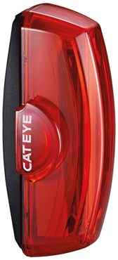 Image of Cateye Rapid X2 80 Lumen USB Rechargeable Rear Light