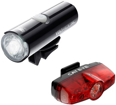Cateye Volt 400 XC / Rapid Mini Light Set