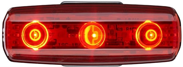 Cateye Rapid Micro USB Rechargeable Rear Light
