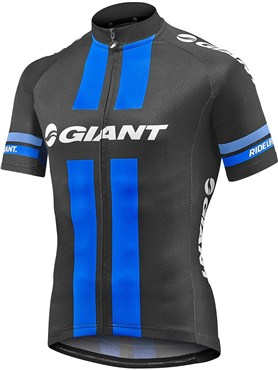 Giant Race Day Short Sleeve Full Zip Cycling Jersey