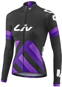 Product image for Liv Womens Race Day Mid-Thermal Long Sleeve Cycling Jersey