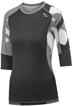 Liv Womens Charm 3/4 Length Sleeve Cycling Jersey