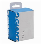 Product image for Giant 700c Presta Valve Threaded Road Bike Inner Tube - Removable Valve Core