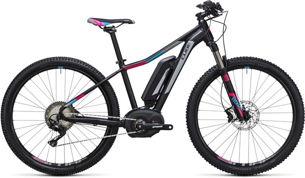 Image of Cube Access WLS Hybrid Race 500 29er Womens 2017 - Electric Bike