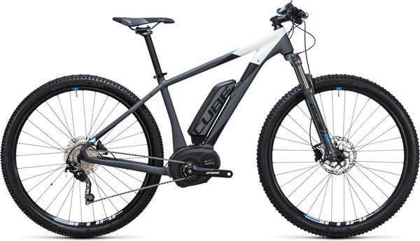 Image of Cube Reaction Hybrid HPA Pro 400 29er 2017 - Electric Bike