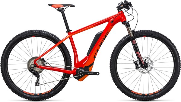Image of Cube Reaction Hybrid HPA SL 500 29er 2017 - Electric Bike