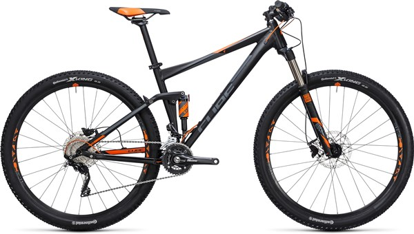 Image of Cube Stereo 120 HPA Pro 29er Mountain Bike 2017 - Full Suspension MTB
