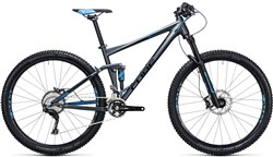 Cube Stereo 120 HPA Race 29er Mountain Bike 2017 - Full Suspension MTB