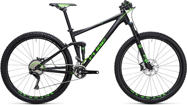 Cube Stereo 120 HPA SL 29er Mountain Bike 2017 - Trail Full Suspension MTB