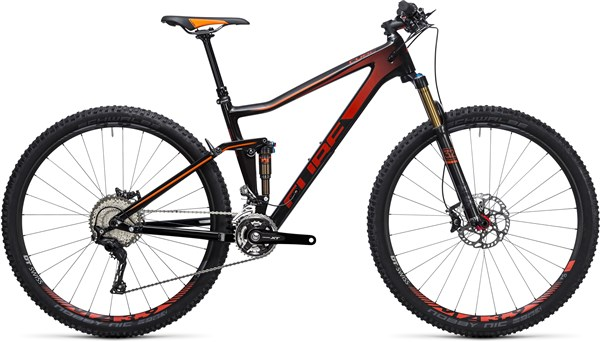 Image of Cube Stereo 120 HPC SL 29er Mountain Bike 2017 - Full Suspension MTB